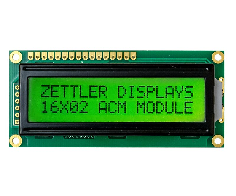 AZ DISPLAYS CHARACTER LCD DISPLAY