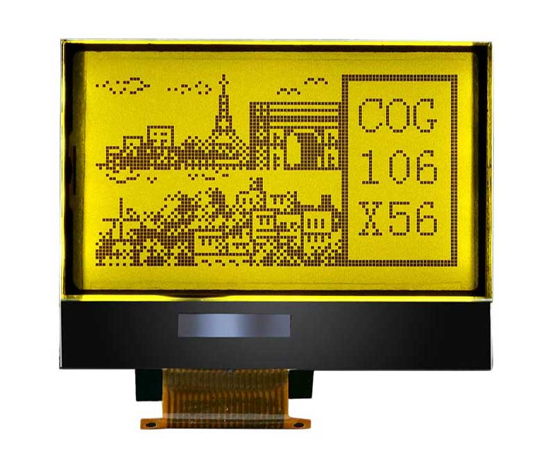 AZ DISPLAYS GRAPHIC LCD DISPLAY