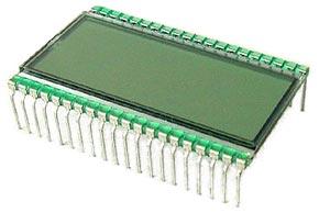 AZ DISPLAYS CUSTOM GLASS LCD PINS