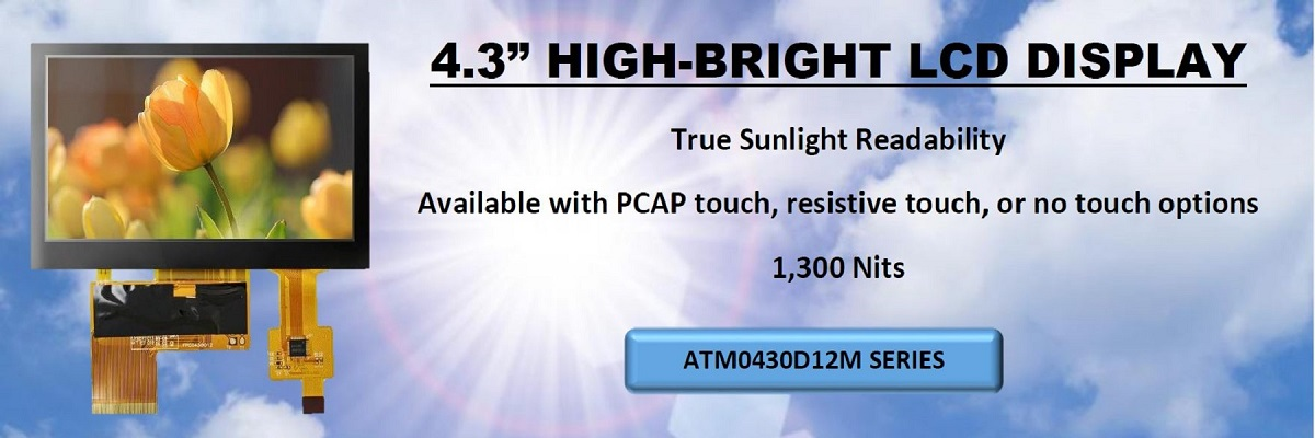 AZ DISPLAYS HIGH BRIGHTNESS DISPLAY