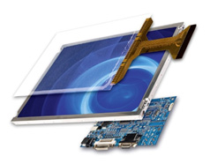 Zettler Displays designs unique custom made TFT LCD touch screen displays